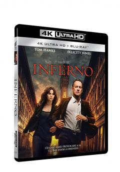 Inferno 4K Ultra HD+(Blu Ray Disc) / Inferno