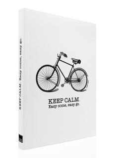 Carnet A4 - Keep Calm