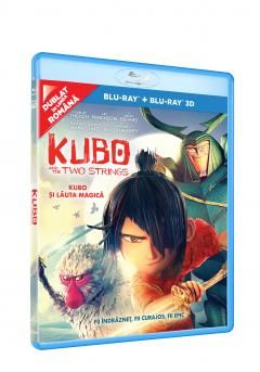 Kubo si lauta magica 2D+3D (Blu Ray Disc) / Kubo and the Two Strings