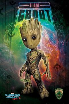 Poster - Guardians Of The Galaxy - I Am Groot