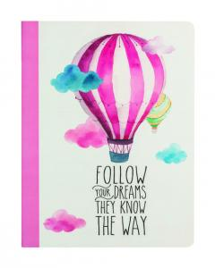 Carnet mare - Follow Your Dream
