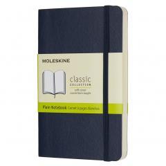 Agenda - Moleskine Sapphire Blue Pocket Plain Notebook Soft