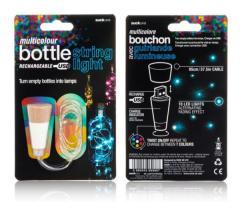 Dop luminos - Multicolour String Bottle Light