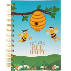 Carnet - Bee Happy (B6)