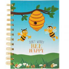 Carnet A6 - Bee Happy
