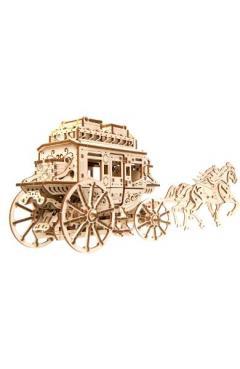Puzzle 3D - Stagecoach. Trasura cu cai