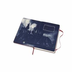 Carnet - Moleskine Harry Potter Map Red Limited Edition