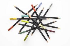 Set 12 creioane colorate Moleskine - Urban Nomad Watercolour