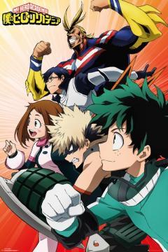 Poster - My Hero Academia, Heroes