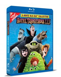 Colectia completa Hotel Transilvania 1-3 (Blu Ray Disc) / Hotel Transylvania 1-3