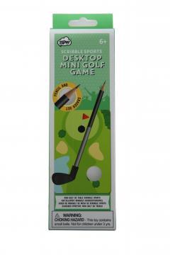 Joc de mini-golf pentru birou
