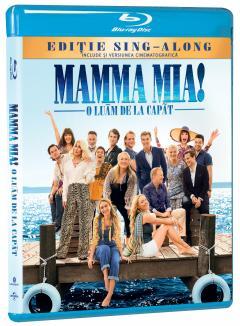 Mamma Mia! O luam de la capat (Blu Ray Disc) / Mamma Mia! Here We Go Again