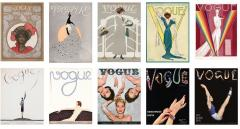 Carte postala - Vogue - 100 Iconic Covers - mai multe modele