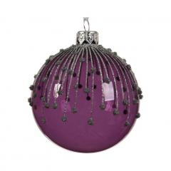 Glob decorativ - Bauble Petunia Purple