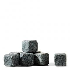 Set 9 cuburi artificiale de gheata - Whiskey Stones Grey