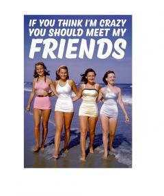 Carte postala - You Should Meet My Friends