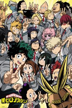 Poster maxi - My Hero Academia, School Compilation
