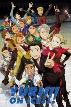 Poster maxi - Yuri on Ice Characters
