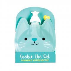 Sticla pliabila pentru apa - Cookie The Cat