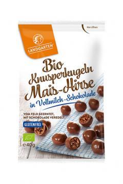 Crunchy snack in ciocolata cu lapte ECO