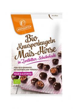Crunchy snack in ciocolata neagra ECO