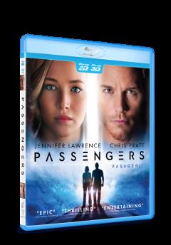Pasagerii 2D+3D (Blu Ray Disc) / Passengers