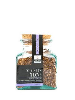 """Borcanel cu ceai din plante aromat """"Violette in Love"""""""