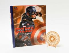 IncrediBuilds - Marvel's Captain America: Civil War Deluxe Book and Model Set: A Guide to the Ultimate Super Soldier