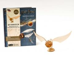 IncrediBuilds - Harry Potter: Quidditch Deluxe Book and Model Set