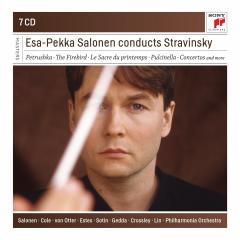 Esa-Pekka Salonen Conducts Stravinsky - Box set