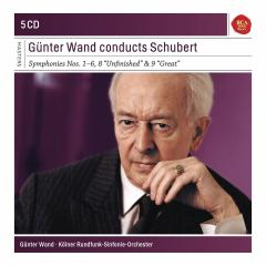 Gunter Wand Conducts Schubert - Box set