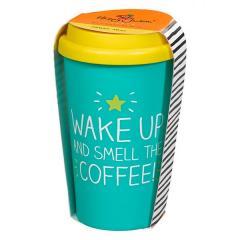 Cana de voiaj - Wake Up & Smell The Coffee