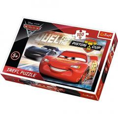 Puzzle 100 piese - Cars 3