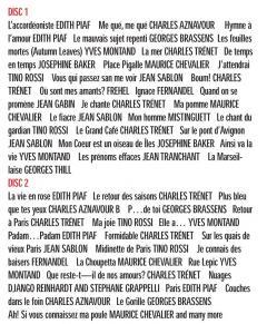 Cafe De Paris - 50 Grands Succes Francais