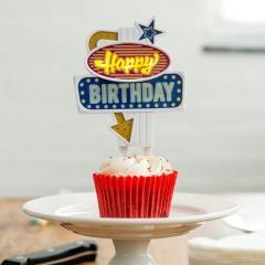 Decoratie Tort - Happy Birthday