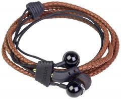 Casti - Wraps Wristband, Premium Brown Leather
