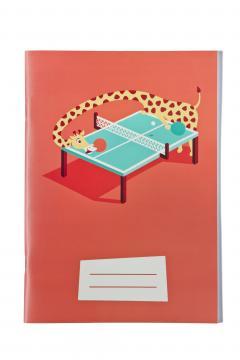 Caiet matematica A5 Girafa Ping Pong - Paula Rusu