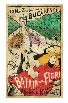 Poster - Bataia cu flori