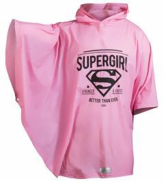Ghiozdan mare cu poncho - Supergirl