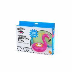 Colac gonflabil pentru boluri - Flamingo