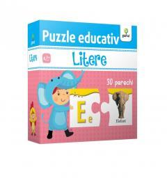 Litere - Puzzle educativ