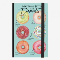 Carnet Legami - Six Donuts - Medium