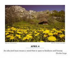 Calendar Romania. Authentic Treasure