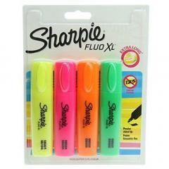 Set 4 markere - Sharpie Fluo XL