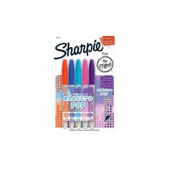 Set 5 markere Sharpie Electro Pop