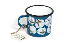 Cana email Loreta Isac - Cotton (Albastru)
