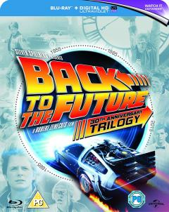 Back to The Future Trilogy (Blu Ray Disc)