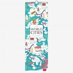 Calendar de perete 2018 - World Cities