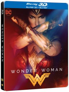 Wonder Woman 3D Steelbook(Blu Ray Disc) / Wonder Woman