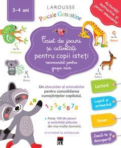 Caiet de jocuri si activitati pentru copii isteti - Grupa mica